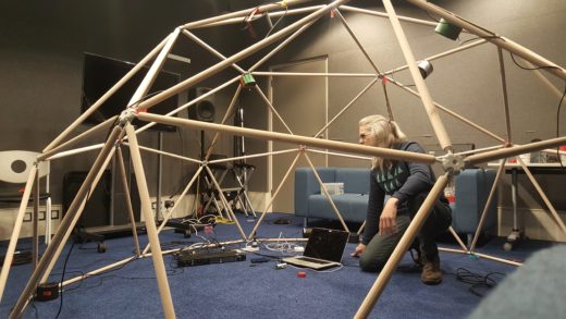 Geodesic Sound Dome