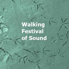 walking festival logo